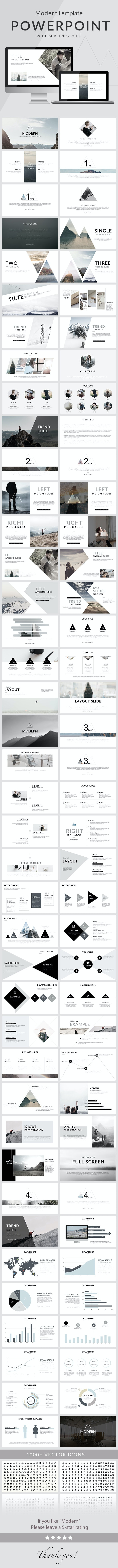 Modern - Powerpoint Template - Creative PowerPoint Templates