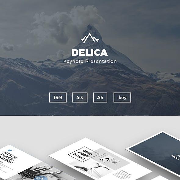 Delica Keynote Presentation