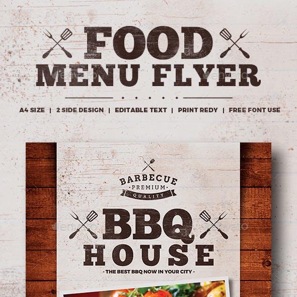 Food Flyer / Food Menu