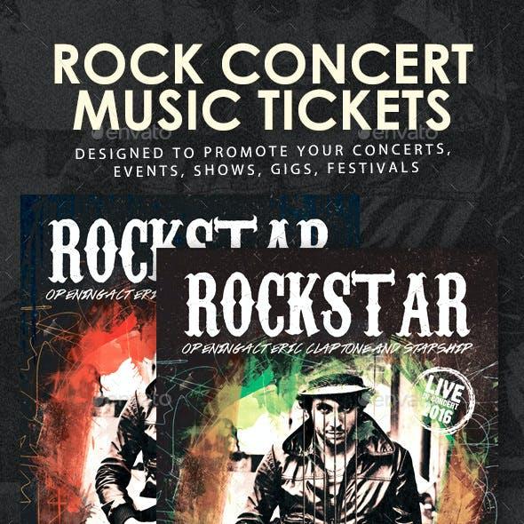 Rock Festival Concert Tickets