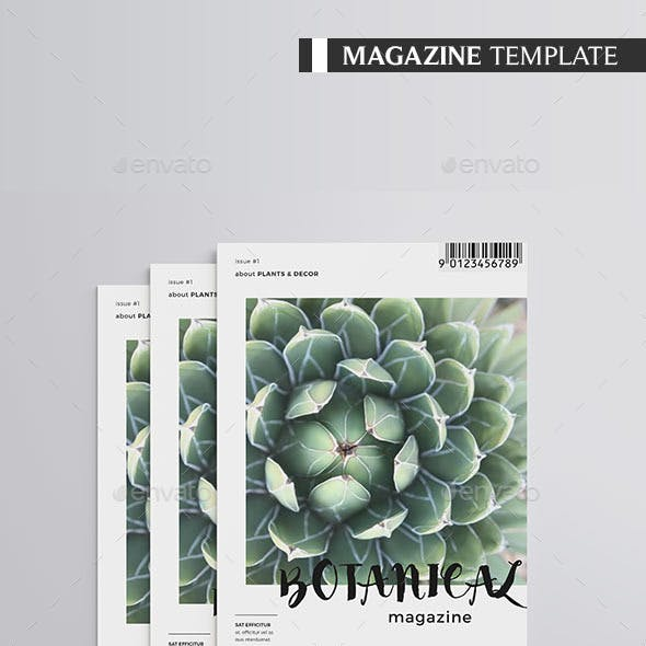 Botanical Magazine 30 pages