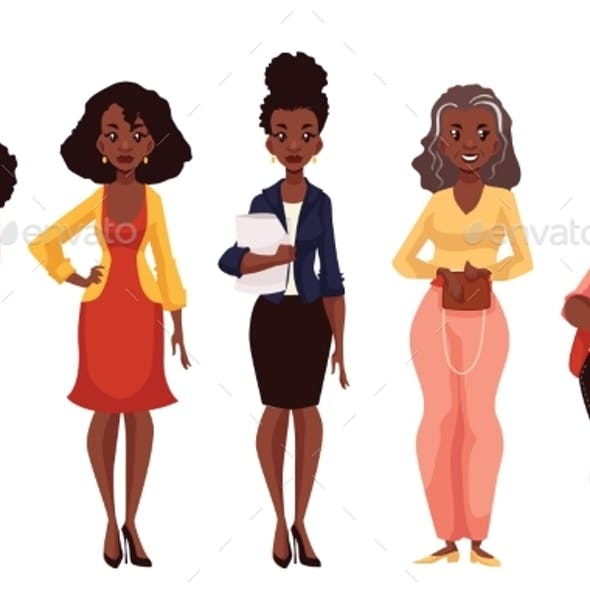 Black Women of Different Ages