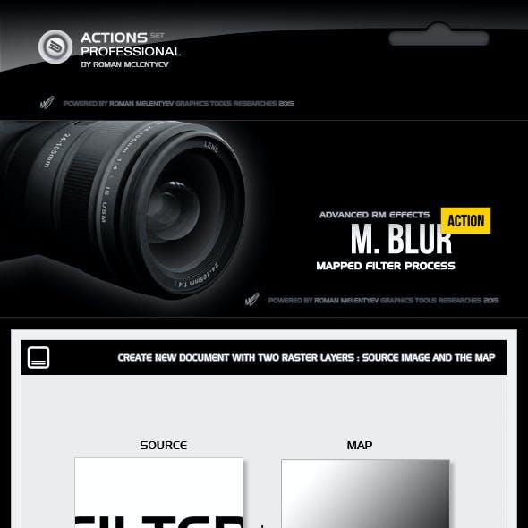 M. Filter Blur Pro Action