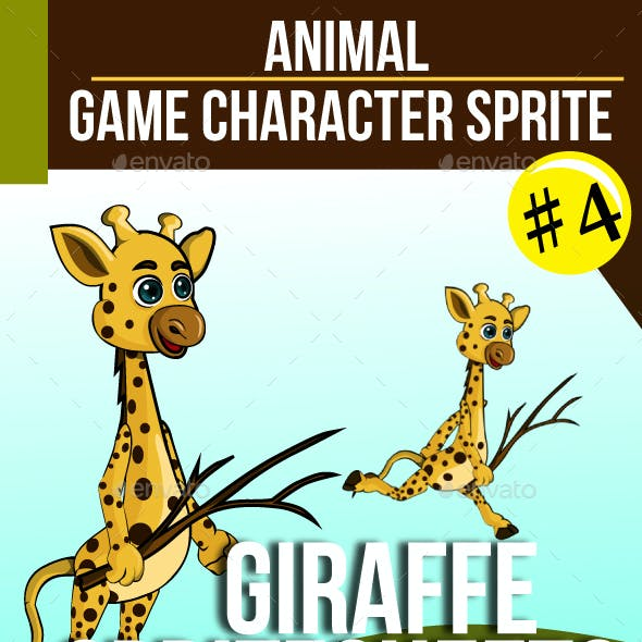 Game Asset : Giraffe