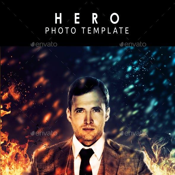 Heroe  Photo Template