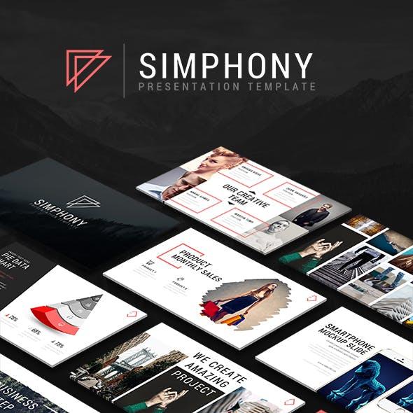 Simphony Presentation Template