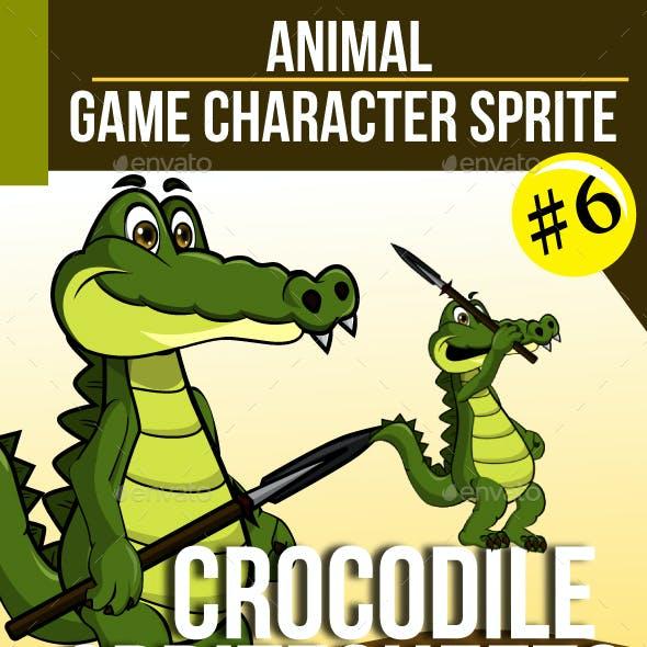 Game Asset : Crocodile