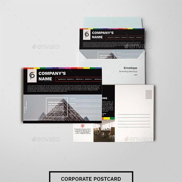 Corporate Postcard - Promotional