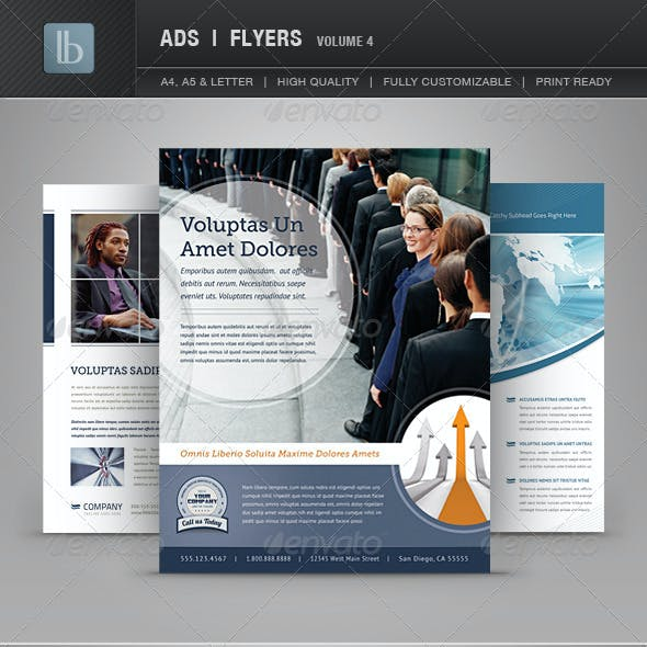 Ads | Business Flyers | Volume 4