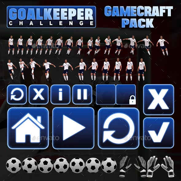 Goalkeeper Challenge - Game Assets