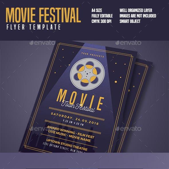 Movie Festival Flyer