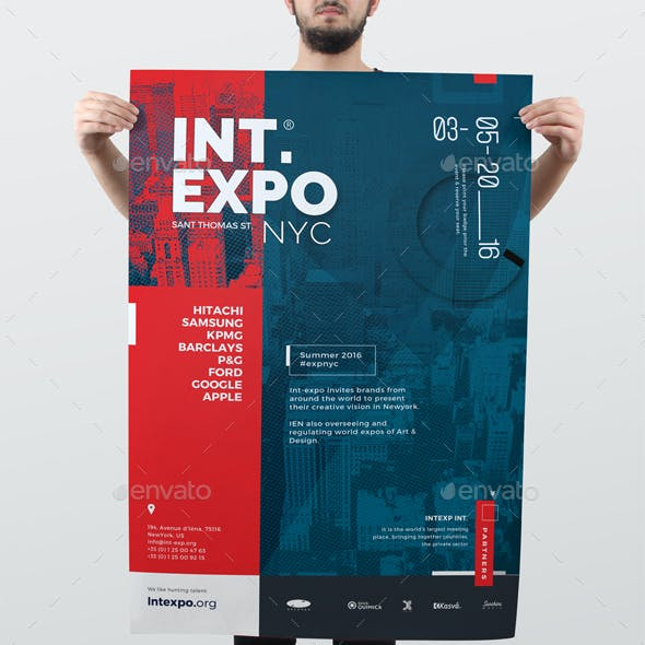 Corporate Promotional Event Poster