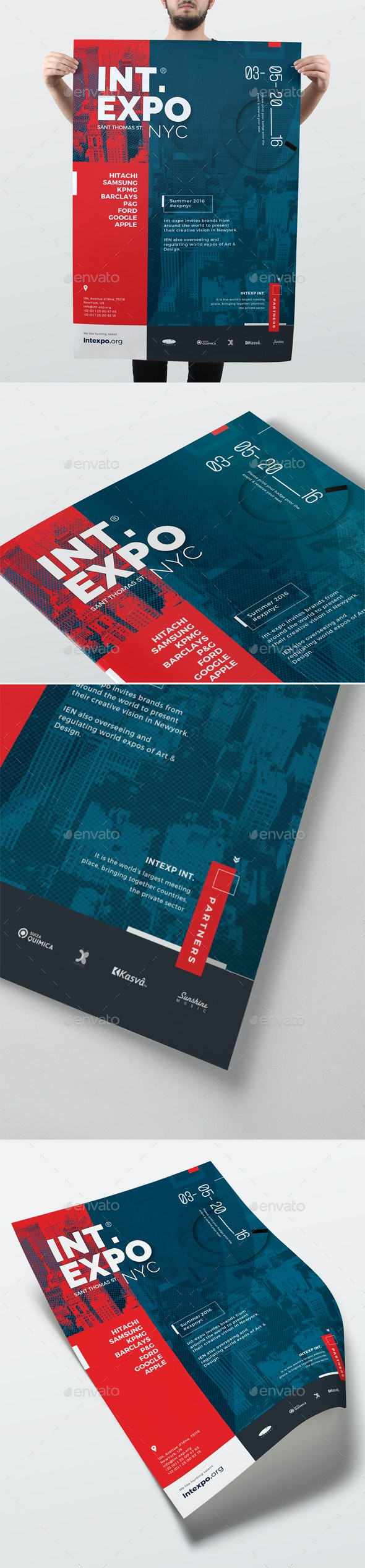 Corporate Promotional Event Poster - Corporate Flyers