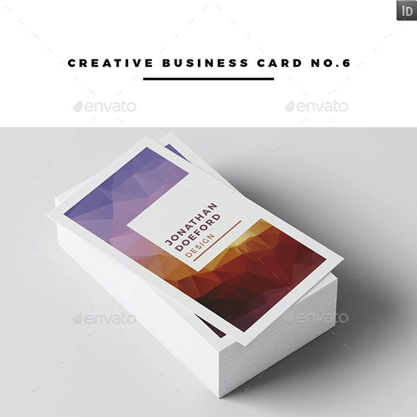 Creative Business Card No.6