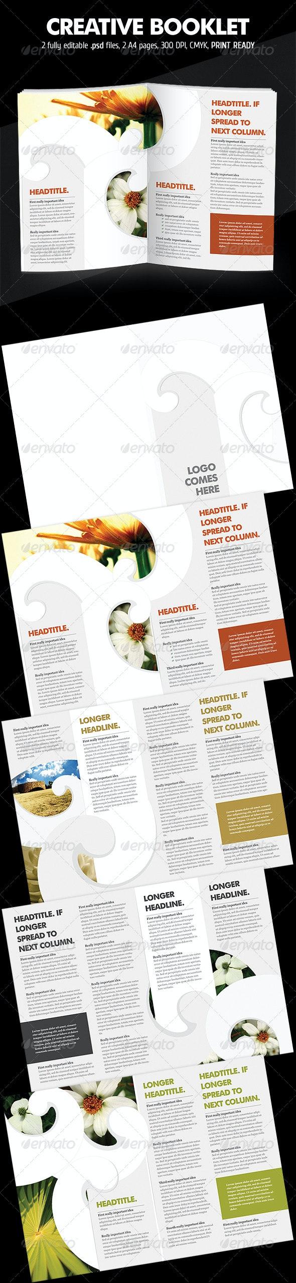Curly Brochure - Corporate Brochures