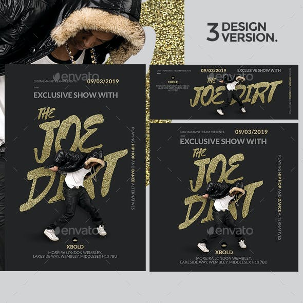 Beat Flyer Template