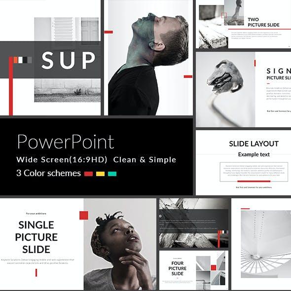 Super - PowerPoint Presentation Template