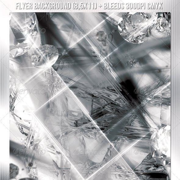 Crystal Flyer Background