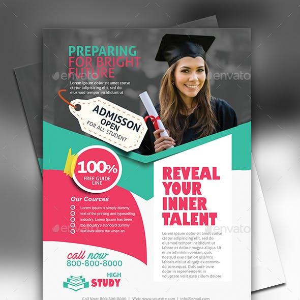 Education Flyer Design