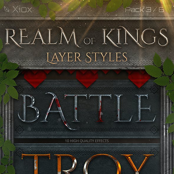 Realm of Kings - Style Pack 3 -