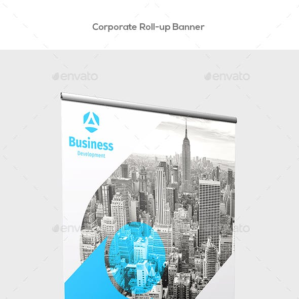 Corporate Roll-up Banners