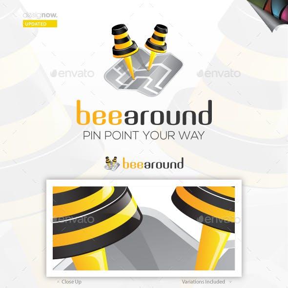 Bee Around Logo
