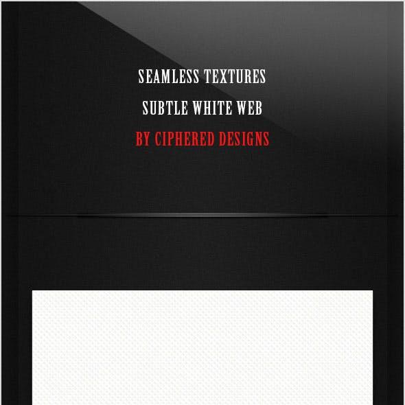 Seamless Textures - Subtle White Web