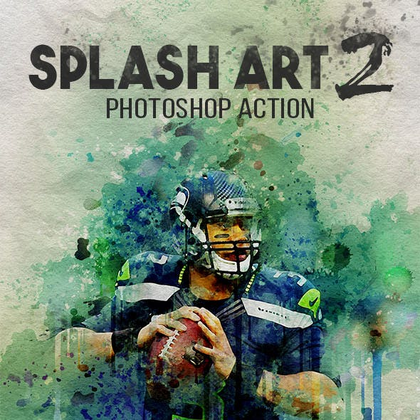 Splash Art 2 Photoshop Action