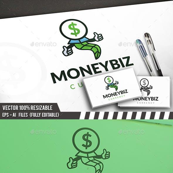 Money Mascot Logo