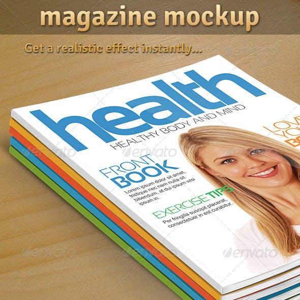 Magazine Mockup 01