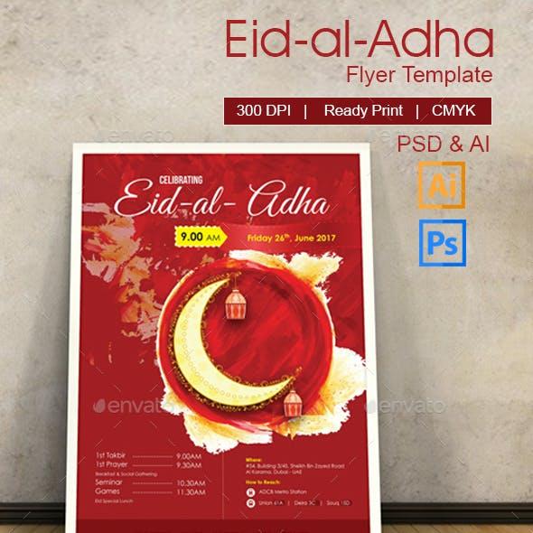 Eid Celebration Flyer/Poster