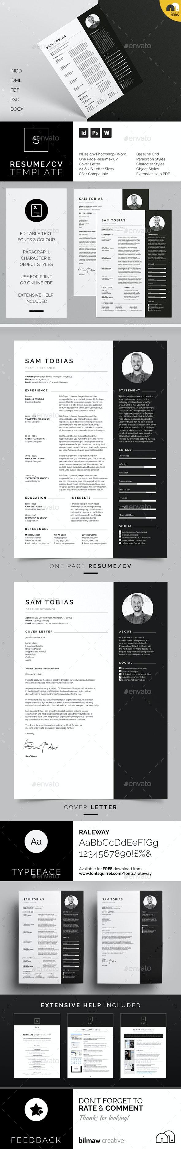 Resume/CV - Sam - Resumes Stationery