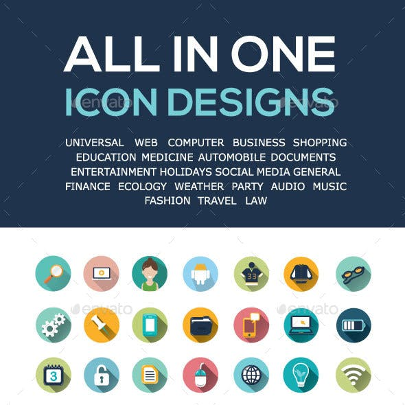 Universal icon designs