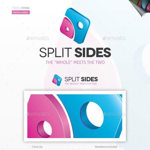 Split Sides Logo