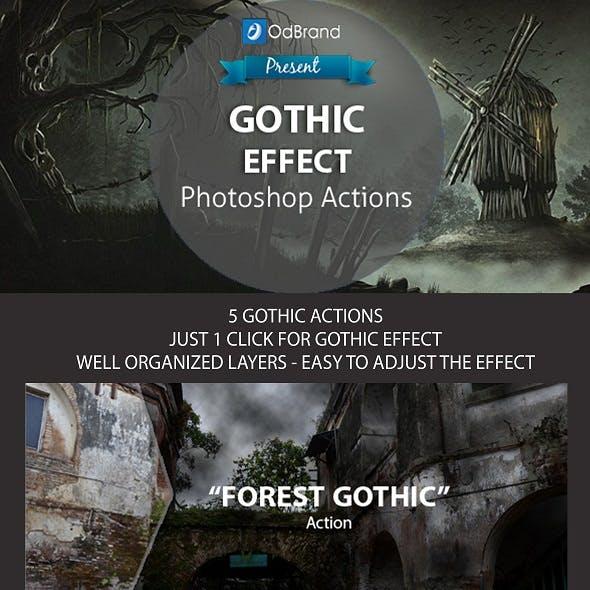 Gothic Effect Photoshop Action