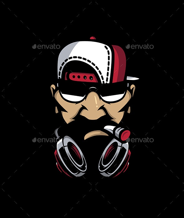 Urban HipHop character - People Characters