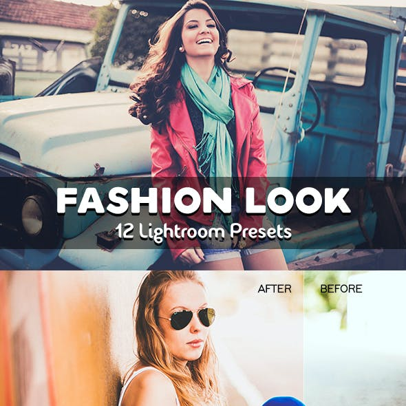 12 Fashion Look Lightroom Presets
