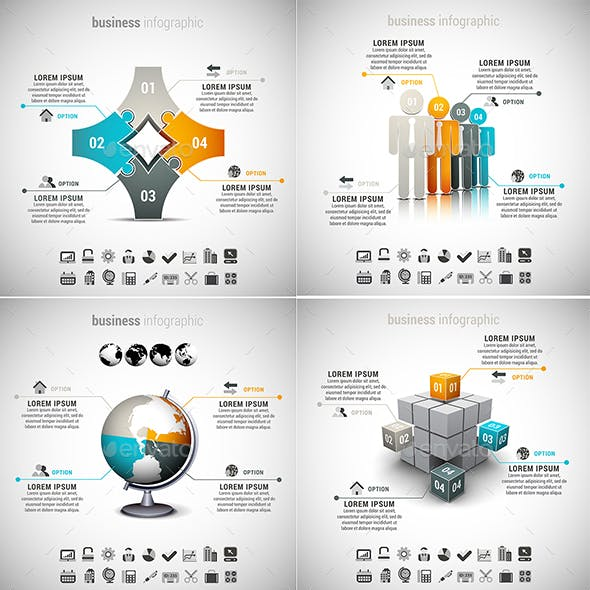 8 in 1 Infographics Bundle