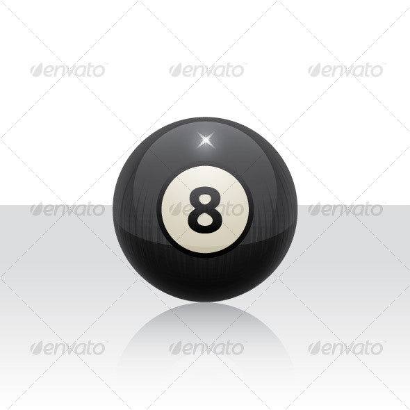 8 Ball  - Man-made Objects Objects