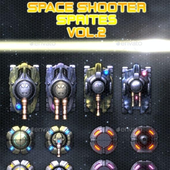 Space Shooter Sprites vol.2