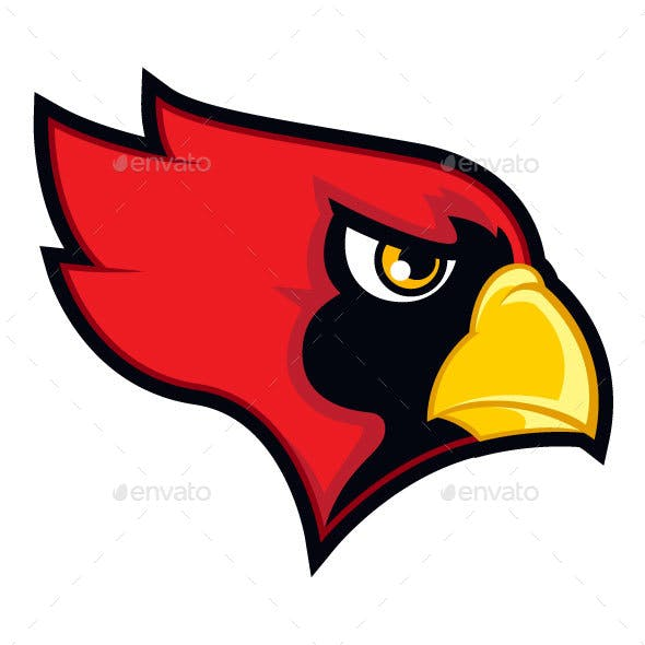 Red Cardinal Sports Logo