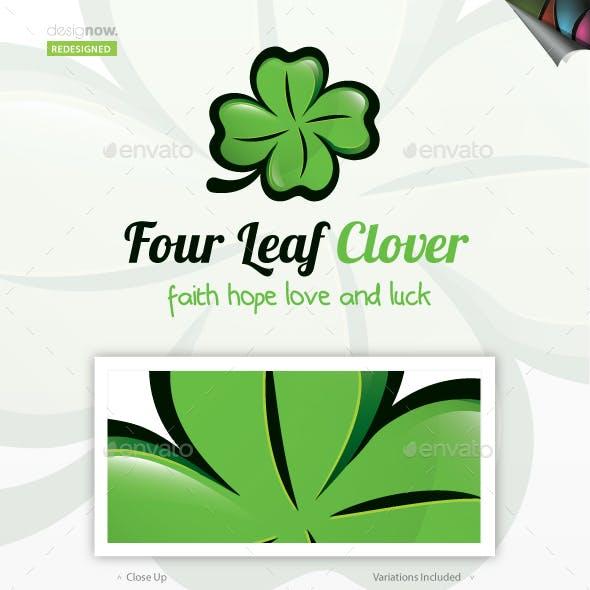 Four Leaf Clover Logo