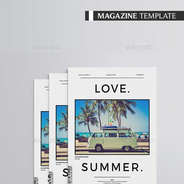 Multipurpose Magazine 32 pages