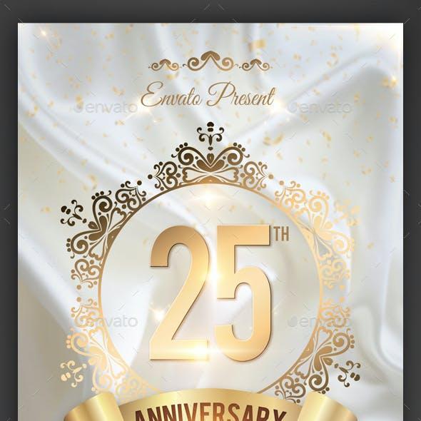 Anniversary Flyer