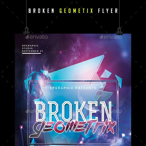 Broken Geometrix Flyer