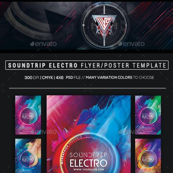 Soundtrip Electro Flyer Template