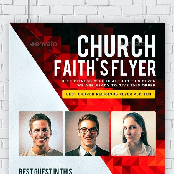 Faith Church Flyer