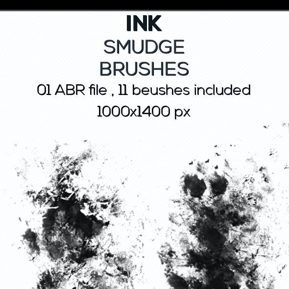 Ink Smudge Brushes