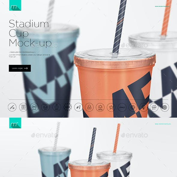 Stadium Cup Mock-up