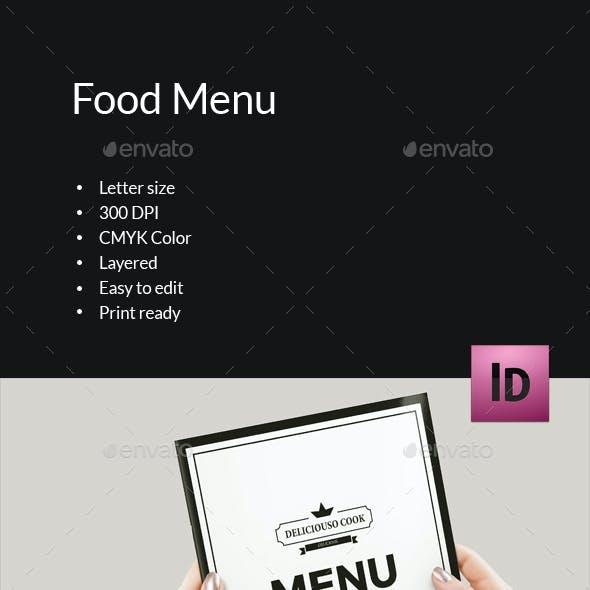 Food Menu Brochure-V396